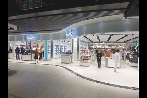 59b62ee4a Store gallery: Harrods opens it doors to the jetset at Gatwick ...